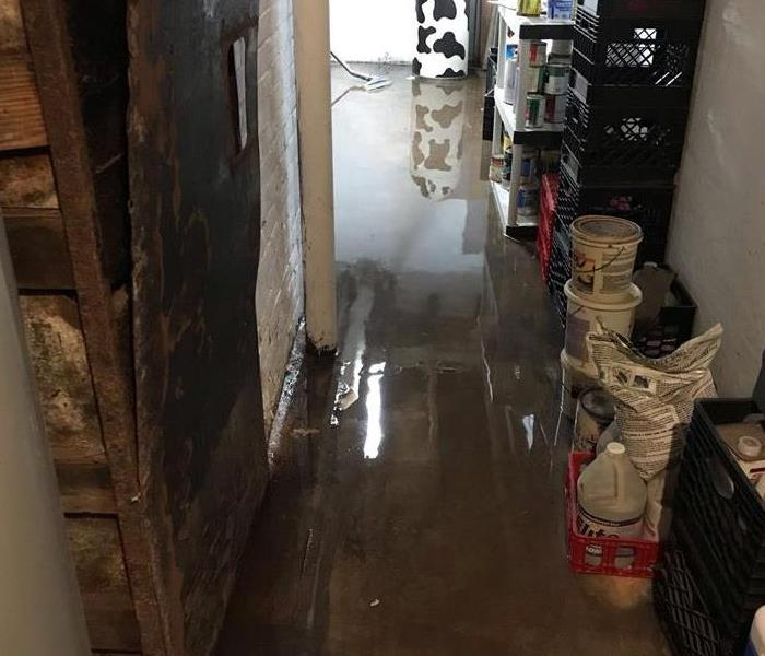 Water Damage Flooded Basements
